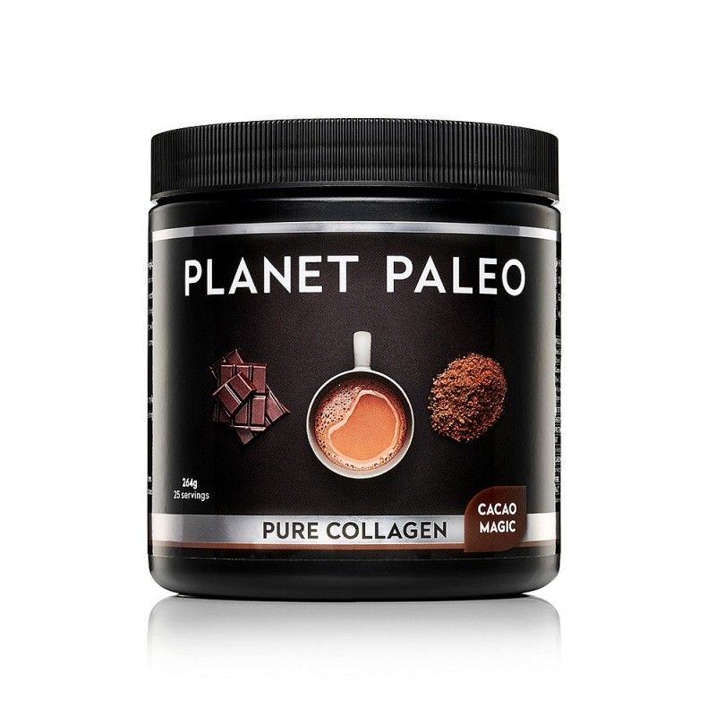 PLANET PALEO PURE COLLAGEN CACAO MAGIC- HORKÁ ČOKOLÁDA